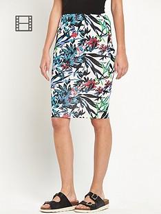 south-printed-tube-skirt