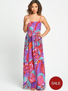 myleene-klass-printed-shoe-string-strap-maxi-dress