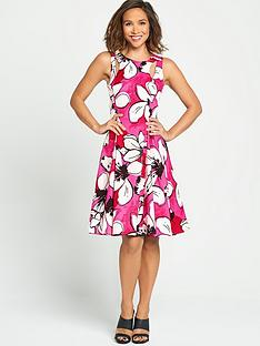 myleene-klass-oversized-floral-print-dress