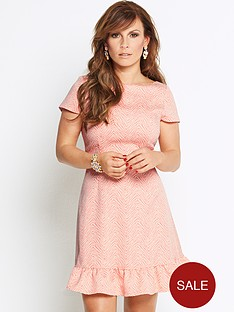coleen-jacquard-flip-hem-dress