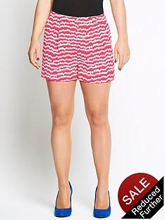 coleen-heart-print-shorts