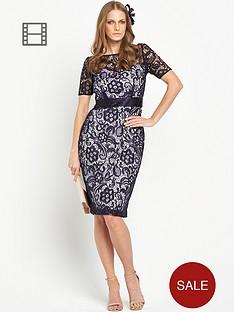 berkertex-guipure-lace-contrast-dress