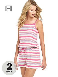 sorbet-holiday-stripe-playsuit-2-pack