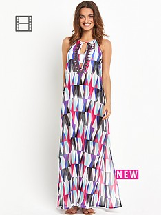 resort-printed-sheer-beach-maxi-dress