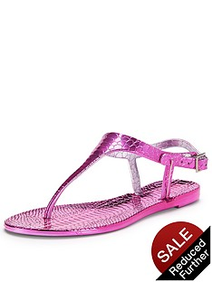 shoe-box-angie-metallic-jelly-toe-post-sandals