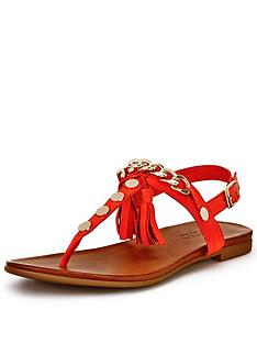 carvela-krimp-tassle-toe-post-sandals