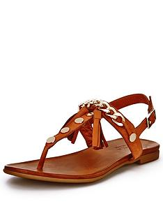 carvela-krimp-tassle-toe-post-sandals