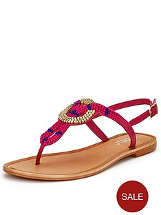 carvela-kouros-leather-embellished-flat-sandals