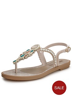grendha-pearl-embellished-toe-post-sandals