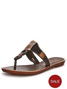 grendha-golden-embellished-toe-post-sandals