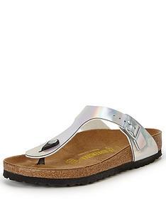 birkenstock-gizeh-silver-toe-post-sandals