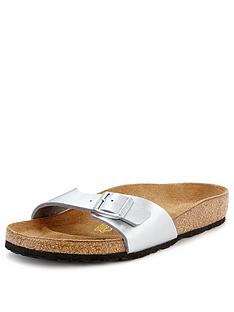 birkenstock-madrid-silver-sandals