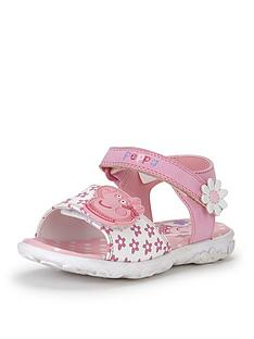 peppa-pig-younger-girls-flower-sandals