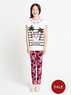 freespirit-girls-monochrome-sequined-top-and-leggings-set