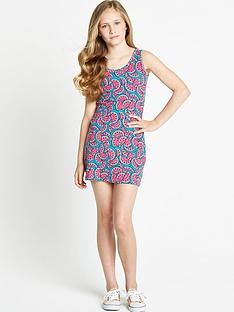 freespirit-girls-watermelon-bodycon-dress