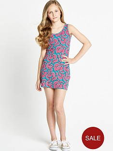freespirit-girls-watermelon-bodycon-dress