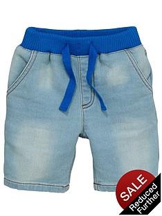 ladybird-boys-denim-look-jersey-shorts