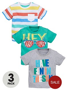 ladybird-boys-mixed-fashion-t-shirts-3-pack