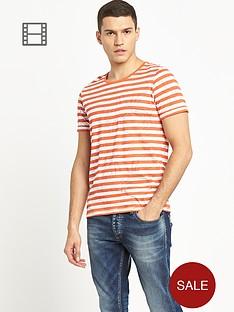 jack-jones-mens-stripe-pine-t-shirt