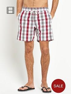 ben-sherman-mens-house-gingham-swim-shorts