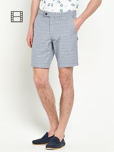 ted-baker-mens-cotton-check-shorts
