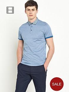ted-baker-mens-woven-collar-striped-polo-shirt