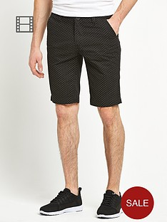 goodsouls-mens-spot-print-shorts
