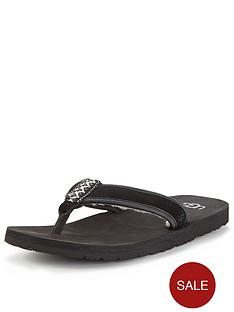 ugg-australia-borrego-toe-post-sandals