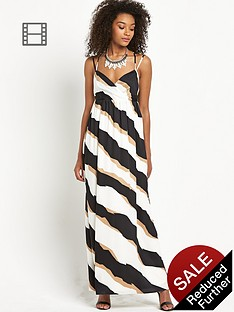 definitions-stripe-maxi-dress