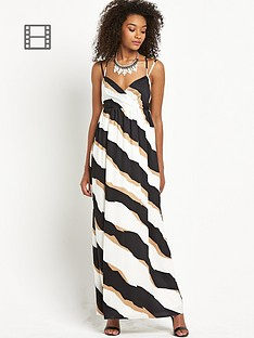 definitions-stripe-maxi-dress