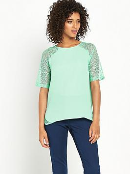 Definitions Fine Lace Detail Top