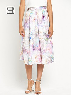 definitions-faint-floral-full-skirt