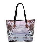 Hello Summer Slogan Beach Bag