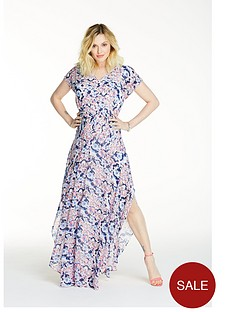 fearne-cotton-printed-floated-maxi-dress