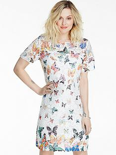 fearne-cotton-butterfly-print-lace-dress