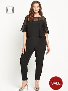 so-fabulous-spot-mesh-double-layer-crepe-jumpsuit