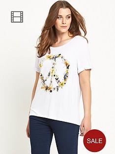 so-fabulous-flower-peace-turn-back-cuff-t-shirt