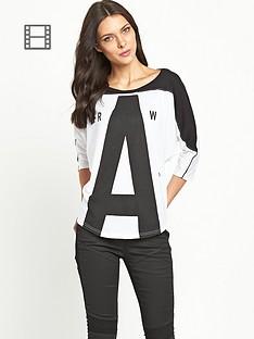 g-star-raw-gretch-three-quarter-sleeve-t-shirt