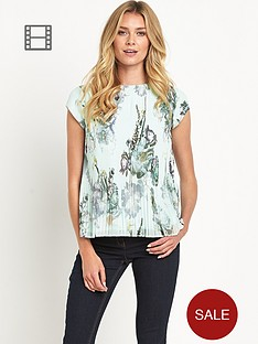 ted-baker-torchlit-floral-pleated-top