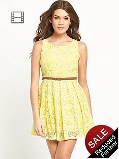 glamorous-lace-skater-dress