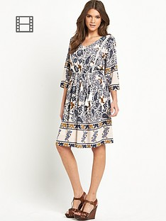 vila-vilin-print-dress