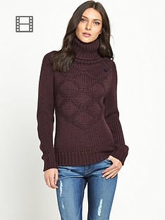 g-star-raw-turtle-neck-patterned-knit