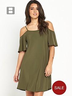 vero-moda-cold-shoulder-dress