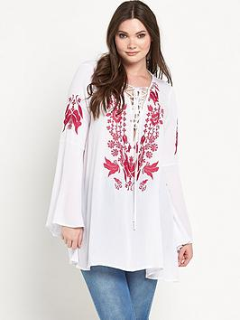 Alice & You Curve Embroidered Tunic