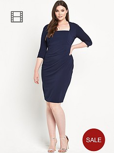 lipstick-boutique-curvy-waffle-pencil-dress