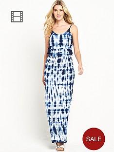 south-dip-dye-frill-maxi-dress
