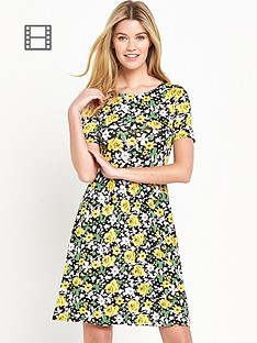 south-tall-floral-jersey-skater-dress