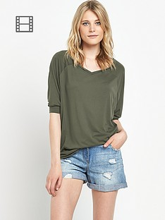 south-fashion-jersey-v-neck-oversized-t-shirt