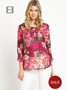 savoir-tropical-print-tunic