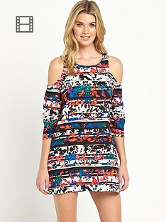 south-cold-shoulder-printed-tunic